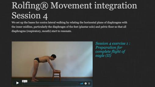 Rolfing® Movement Integration Session 4