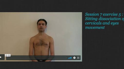 Rolfing® Movement integration Session 7
