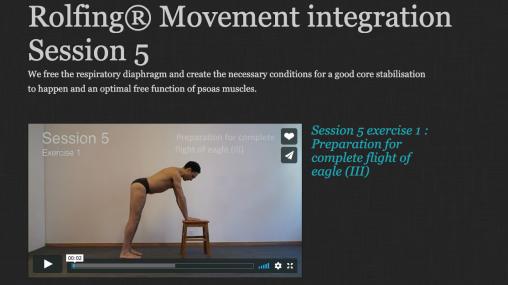 Rolfing® Movement integration Session 5